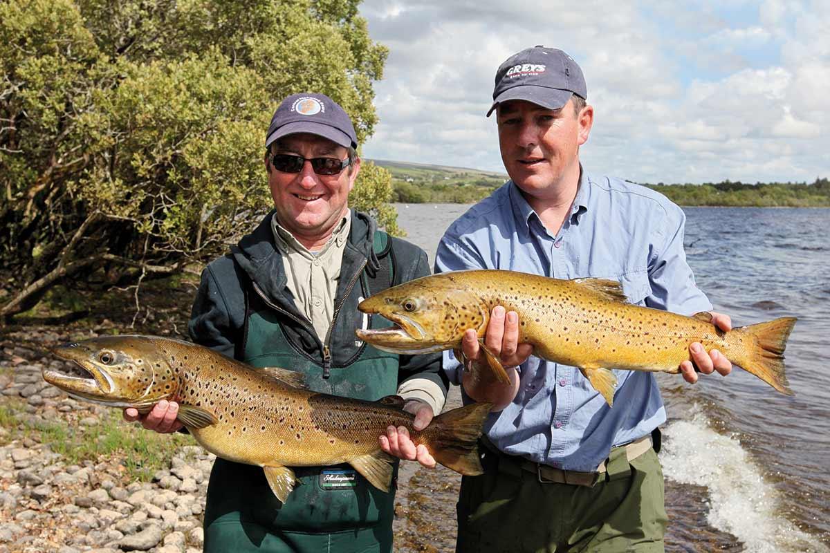 Fiskeri i Irland efter ørred