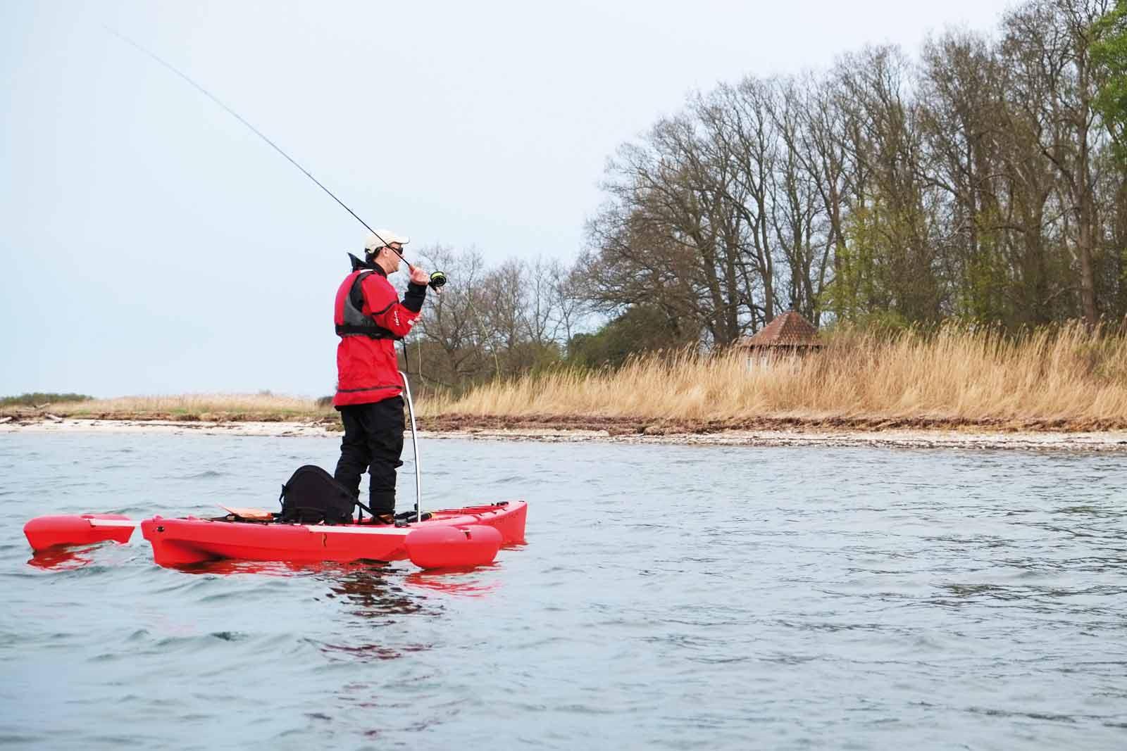 Stabile fiskeoplevelser fra kajakken