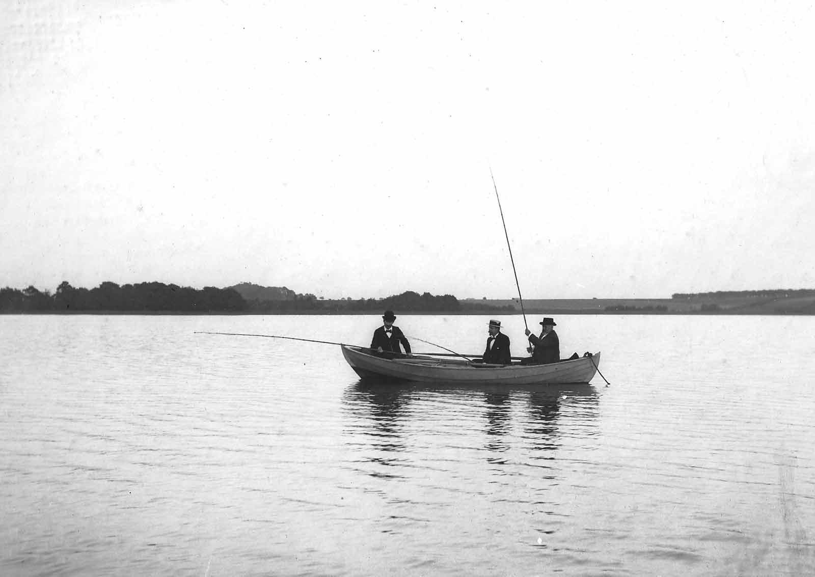 Lystfiskeri i gamle dage