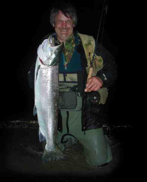Jan fighter en fin sensommerfisk i den sydlige del af østersøen.