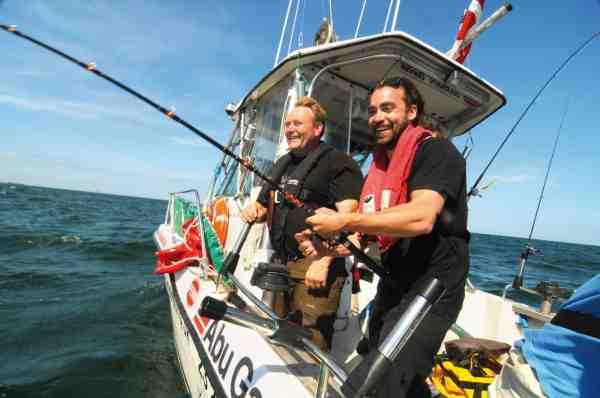 Action med torsk og korte ærmer – meget bedre bliver det ikke.