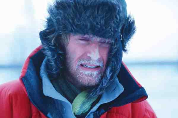 Minus 47 grader og en kaotisk reparation af bæltekøretøjet betød en solid forfrysning i Jakubs næse.