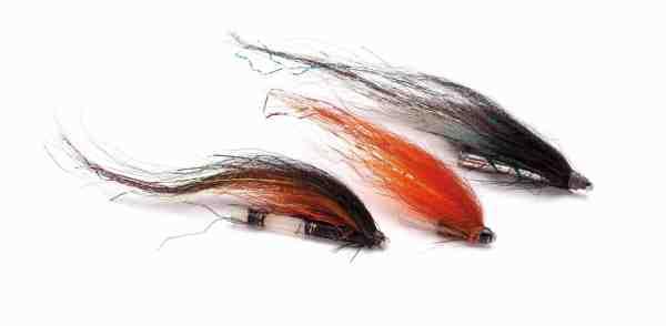 En stribe gamle krigere – der er ikke noget, der siger en flue kan fange fisk tydeligere end bidmærker.