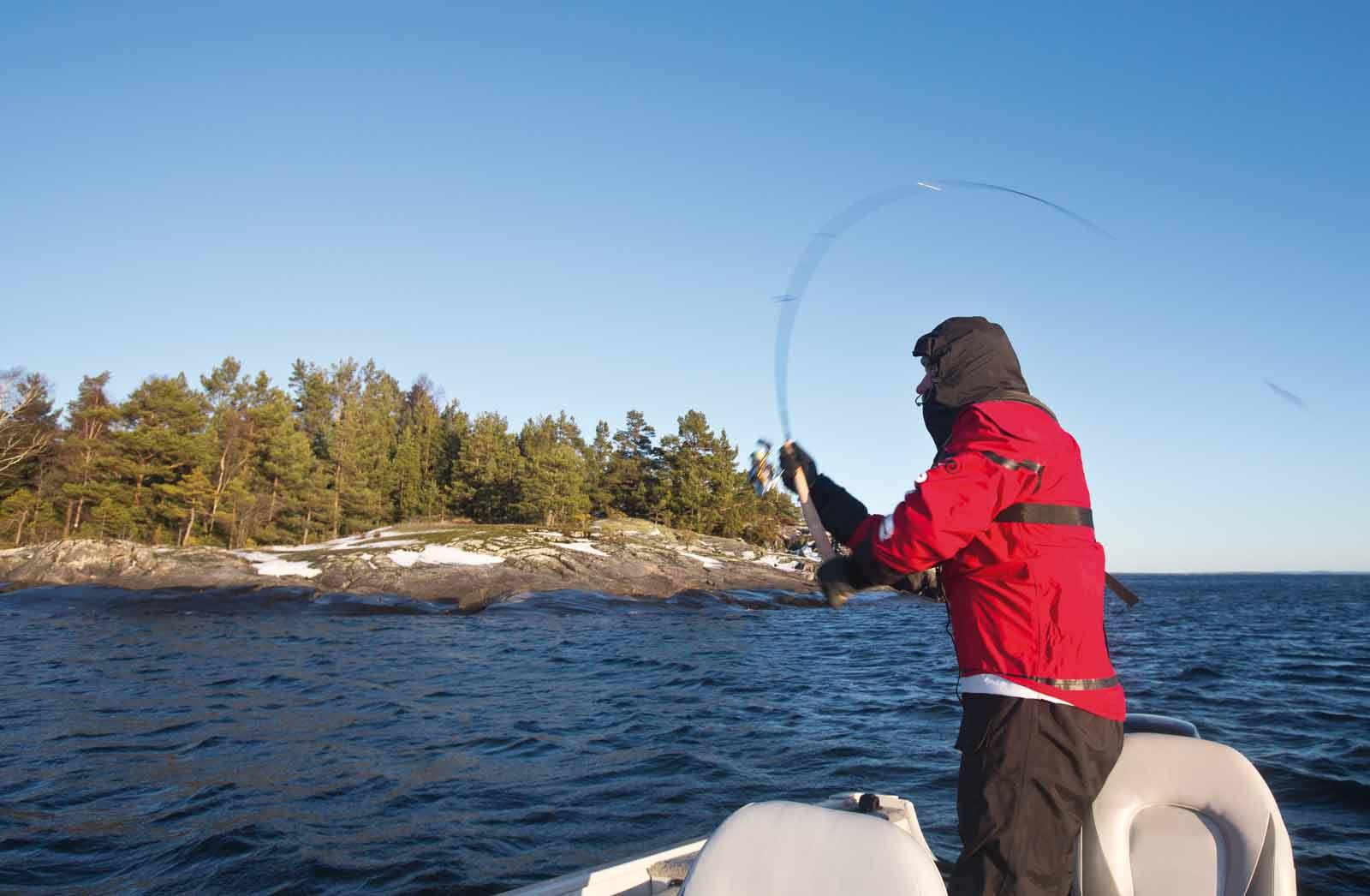 Fiskeri med tørdragt