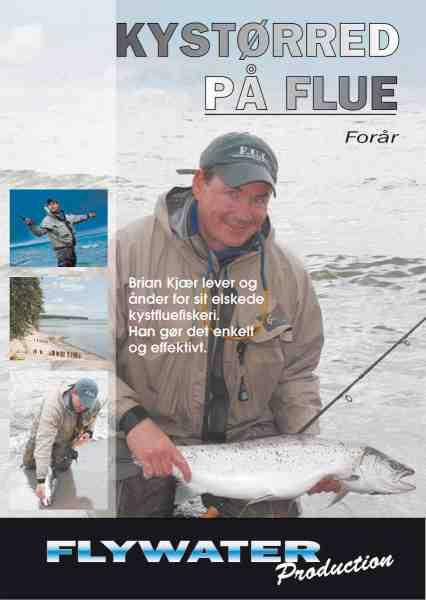Simpelt og effektivt kystfluefiskeri er omdrejningspunktet i Brian Kjærs nye film – Kystørred på Flue.