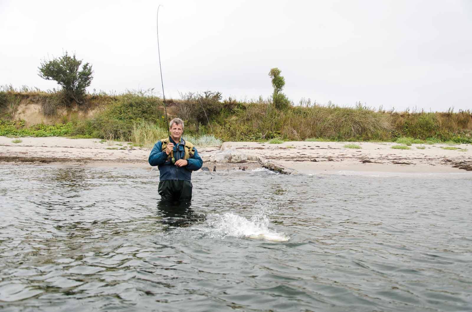 Kystflue efter havørred med Jan Krohn Dehli