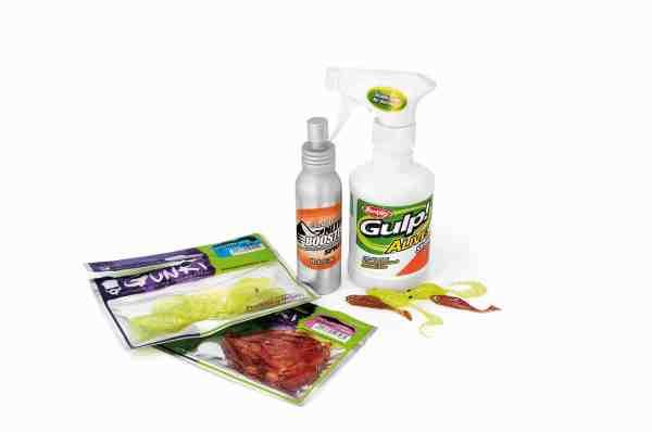 Der findes et bredt udvalg af jigkroppe med duftstoffer indbygget, samt sprays der kan tilføje ekstra duft til dine aborrejigs. Spørg efter dem hos din lokale grejhandler.