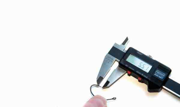Krogene i testen er opmålt med en elektronisk skydelære med en præcision på 1/100 mm.