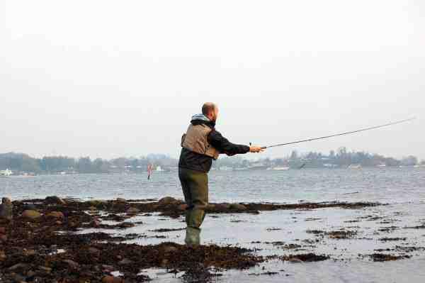 Odden på nordsiden af Kalvø fisker godt hele året.