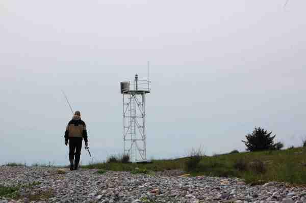På vej mod nye eventyr ved Lushage – en af Samsøs absolutte toppladser.