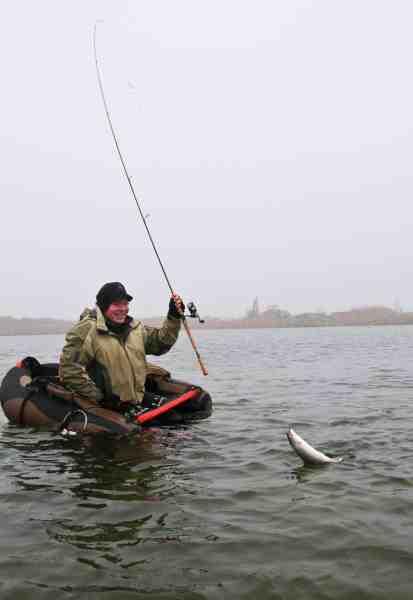 Gulp og bombarda er effektivt og langtrækkende, men til tider kan en flydering pynte på fangststatistikkerne.