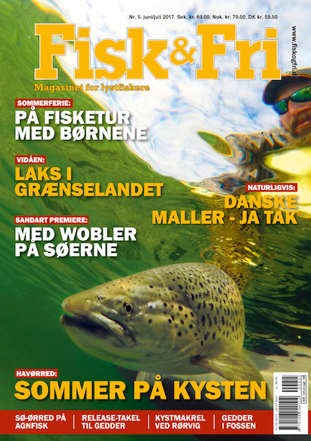 Fisk og Fri forside Juni juli 2017
