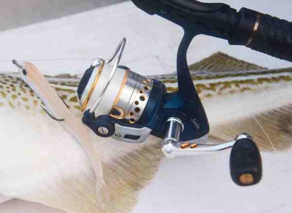 Er hjulet ikke saltvandsbetandigt som dette fra Abu Garcia, kan du give det en tur med beskyttelses lanolin på sprayform – fx Prolan fra Denrex.