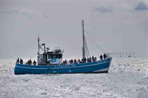 Der er masser af turbåde, som arrangerer fladfisketure, så det er bare med at komme afsted.