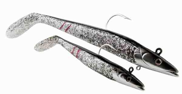 SavageGears Sandeel er en suveræn agn til sej. Den er ekstrem livlig og også rigtig god til fiskeri fra land.