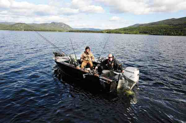 Da Allan Zeuthen faldt pladask for død agn fisket på Lip Scull's, var det da han mødte Christian Møller i Norge.