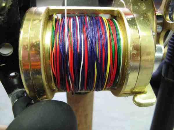 Farveskift på fletlinen er en stor hjælp, hvis man da ikke ligefrem vælger et tæller hjul.