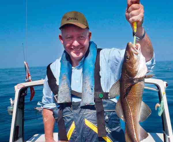 Erik Kusk Larsen har dyrket småbådsfiskeri siden tresserne, så han har prøvet lidt af hvert.