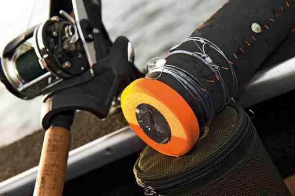 Forfangene til fx fiskeri med agnfisk kan med fordel opbevares på en rig-bin – her fra Prologic.