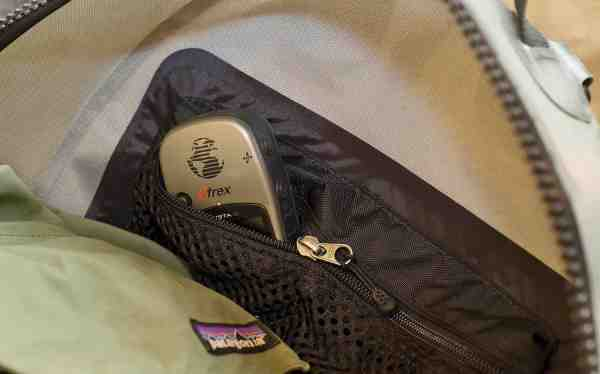 Inderlomme til diverse småting som fx nøgler og mobiltelefon, er rart når man har et stort hovedrum. Patagonia Stormfront Pack.
