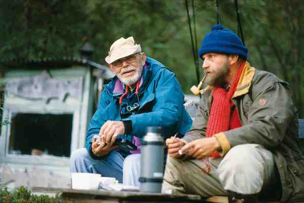 Søren Eich som var Jens gode ven, havde et hus i Norge, beliggende nærmest på kanten af Gaula. Her tilbragte de to nære venner mange hyggelige timer sammen i laksesæsonen.