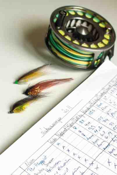 Ved de fleste laksevande føres der nøje regnskab med fangsterne og det kan betale sig at bruge noget tid på at studere disse data.