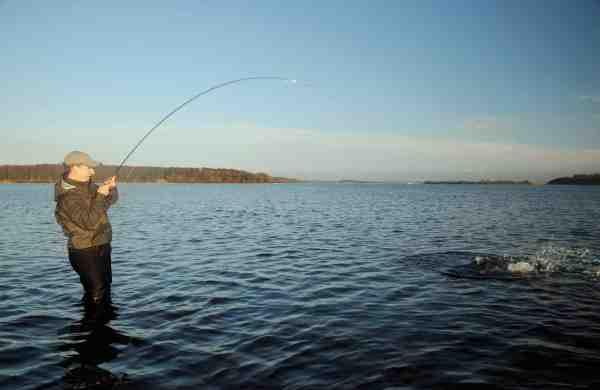 En god fisk giver hurtigt varmen, selvom temperaturen ikke altid er helt forårsagtig i marts.