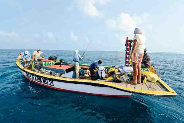 Bådene på Lakkadiverne er ikke just moderne, men maleriske og charmerende på deres helt egen måde.
