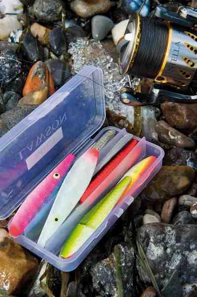 Med et fornuftigt arsenal af kystblink i forskellige farver øger du chancen for at finde det der spiller på den aktuelle dag