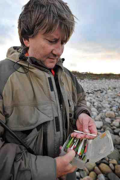Fladbukken, Odden Pilen og Gøjen, hører til blandt favoritterne når man går Oddenfiskerens grejboks igennem.