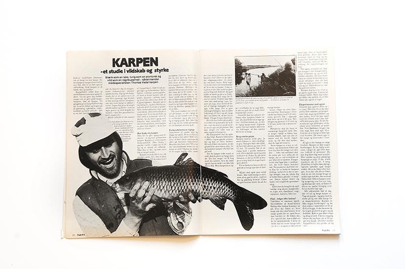 Fisk & Fri skrev allerede om karpefiskeriet i Lammefjords Kanalerne på Sjælland i blad nr. 2/82. Et par år efter i nr. 4/84 går daværende lokalredaktør Jim Pedersen i dybden samme sted fra med en skælkarpe på 4 kilo.