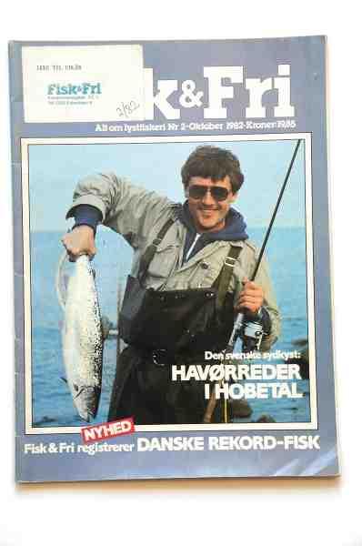 I starten af firserne var Otto's store havørredfangster forsidestof – her er det Fisk & Fri nr. 2-1982.