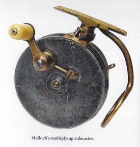 "Peter Duncan Mallochs fastspolehjul ""Sidecaster"""
