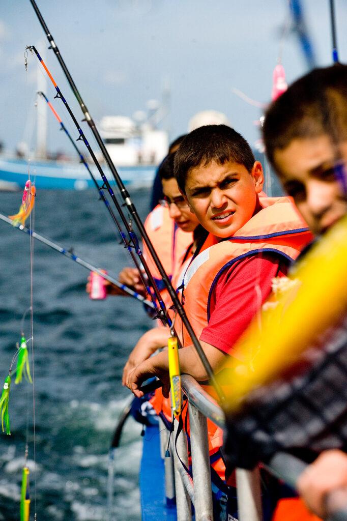Havfiskeri er en god start før børn og unge