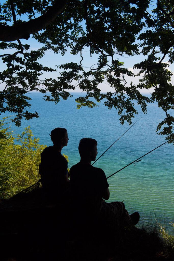 havørredfiskeri på kysten med Ilures