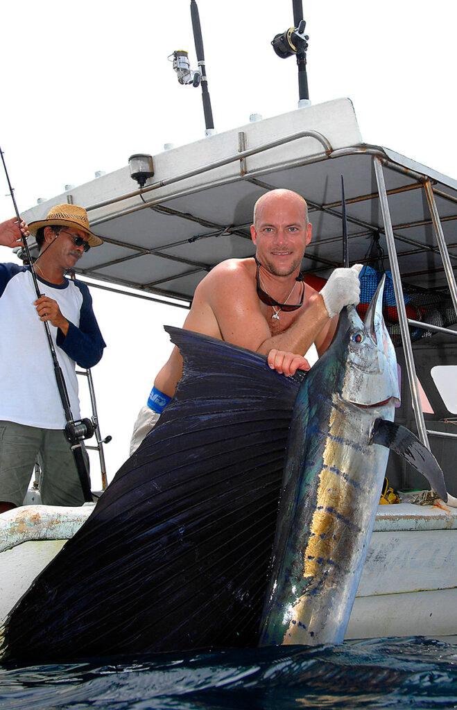 Sejlfisk fra Malysia