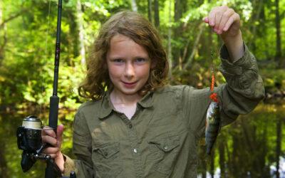 LÆR AT FISKE MED FISK & FRI´S FISKESKOLE