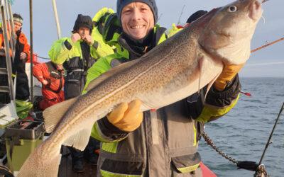 Svært fiskeri på Sport Dres´s Torskefestival