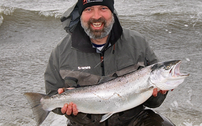 En grov blankfisk før stormen til Alan Andersen