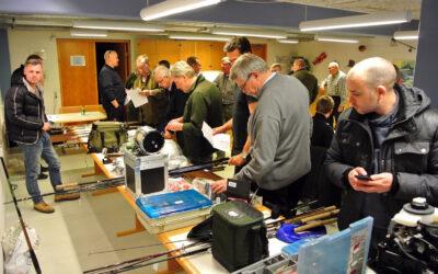 Fiskeringens 50 års Jubilæums Grejauktion