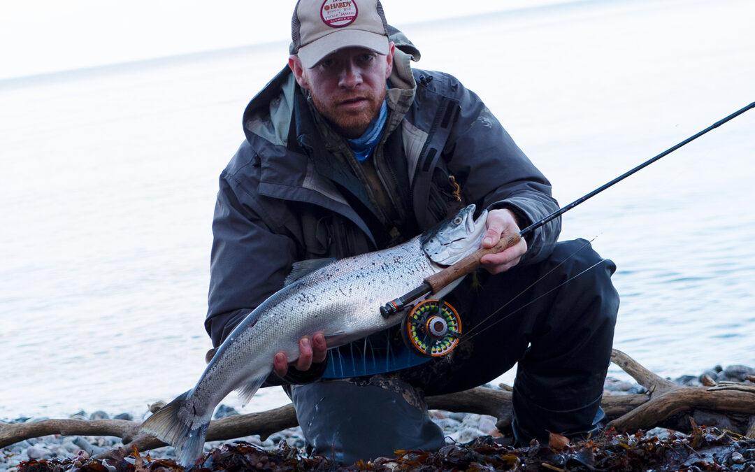 Morten Jensen med 68 cm havørred
