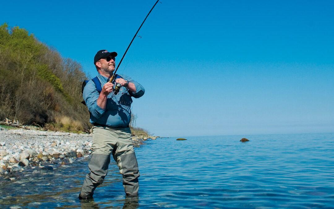 Havørredfiskeri på Djursland