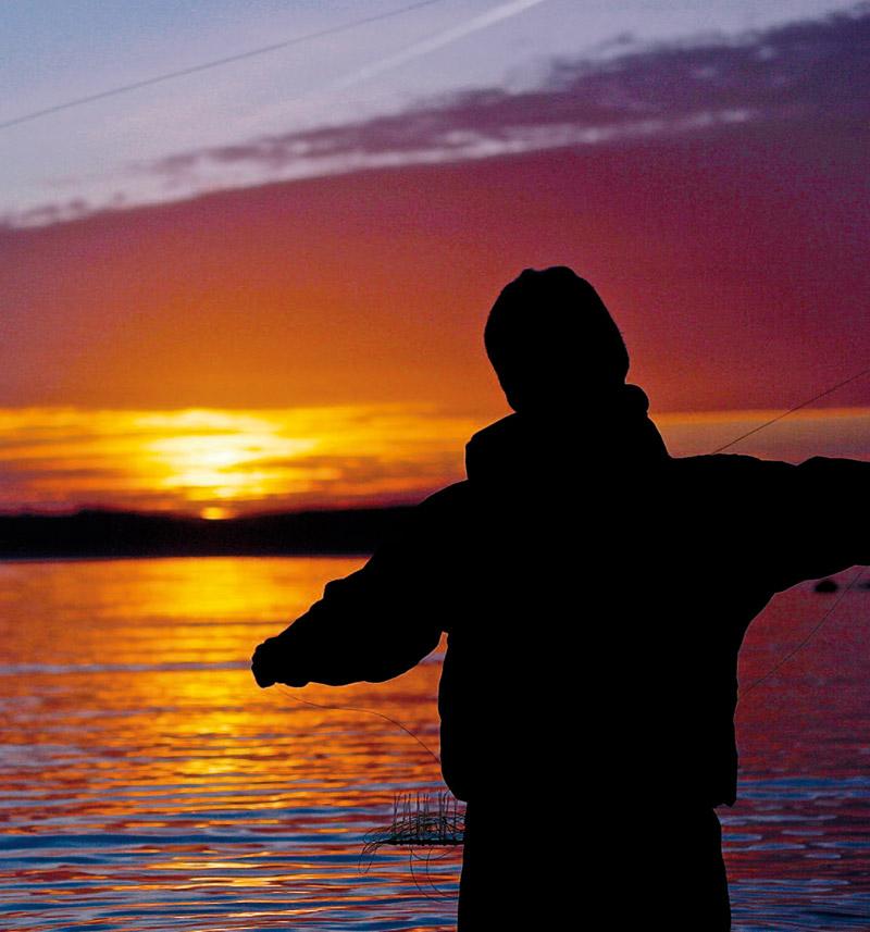 Fiskestemning på kysten