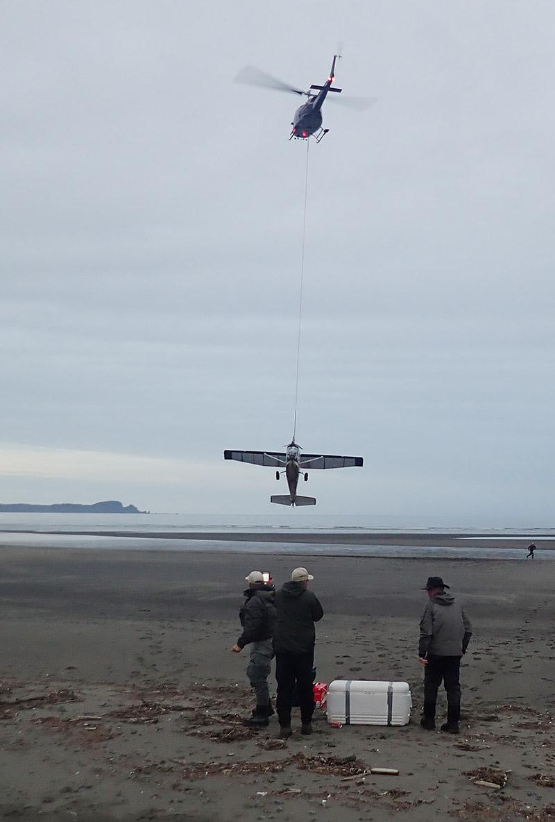 Cessna havareret Alaska