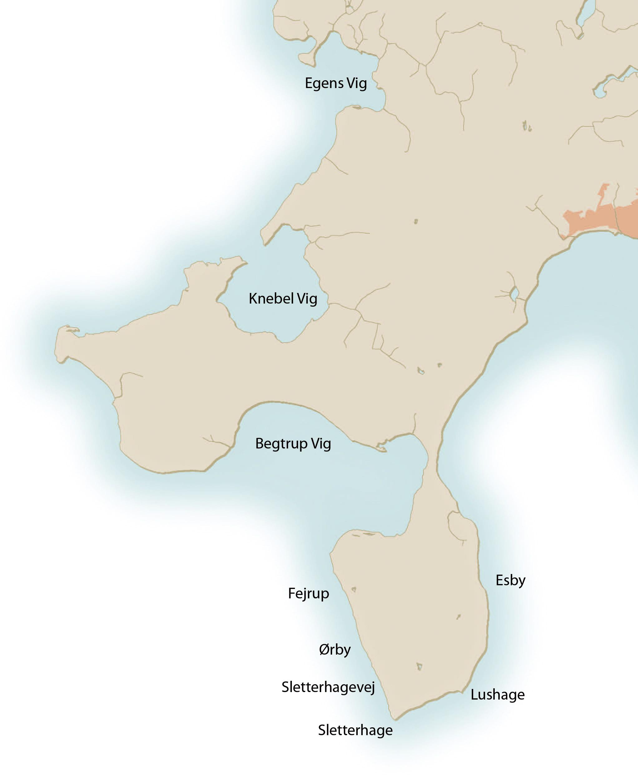 Havørredpladser på Djursland