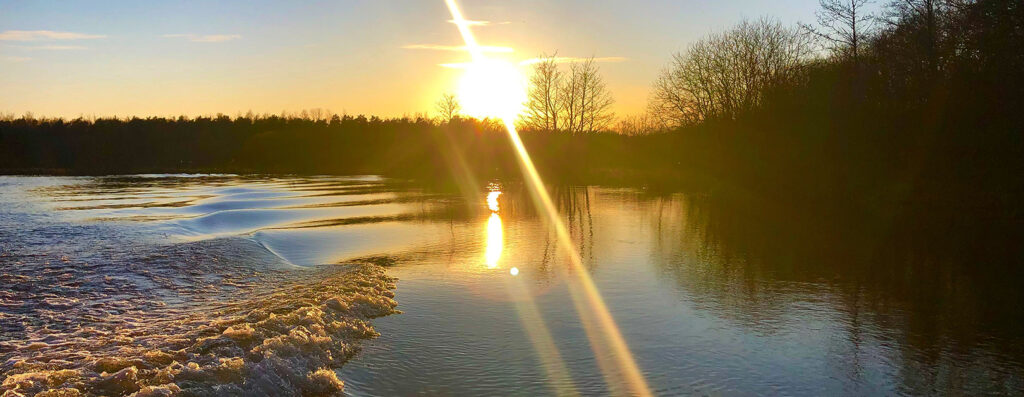 Morgen ved geddesøen