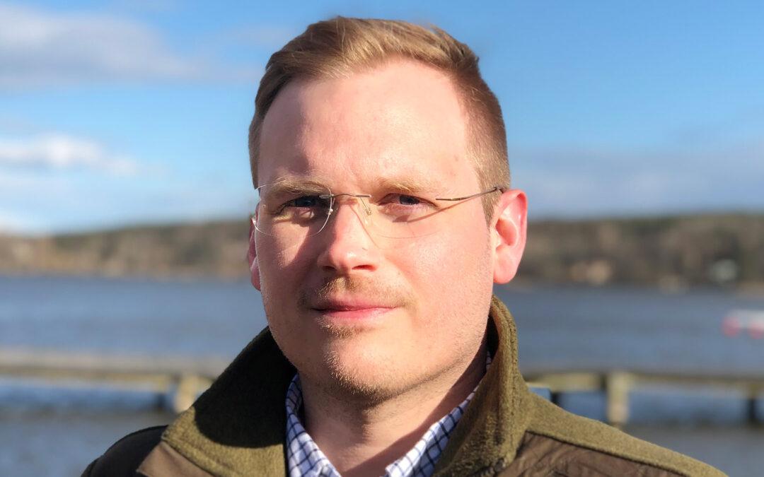 Carl Sterner er den nye salgschef i Shimano Nordic