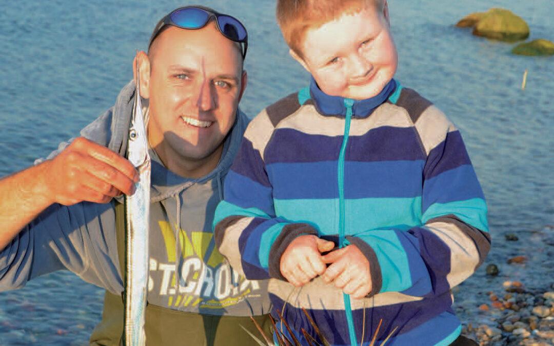 David Nielsen med en fin hornfisk