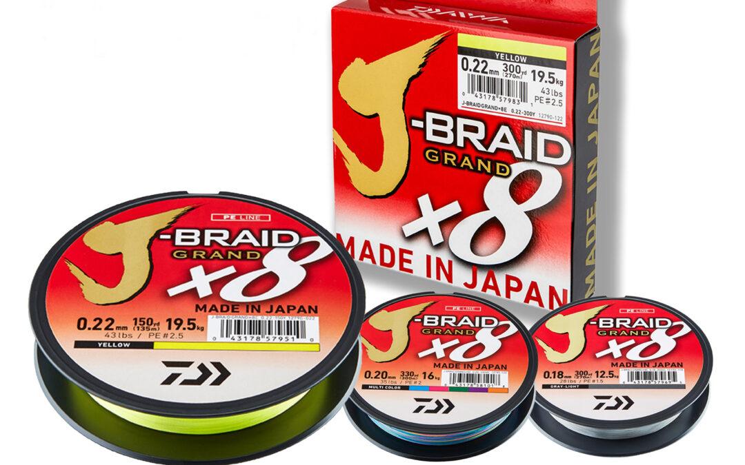 Daiwa J-Braid X8 Grand