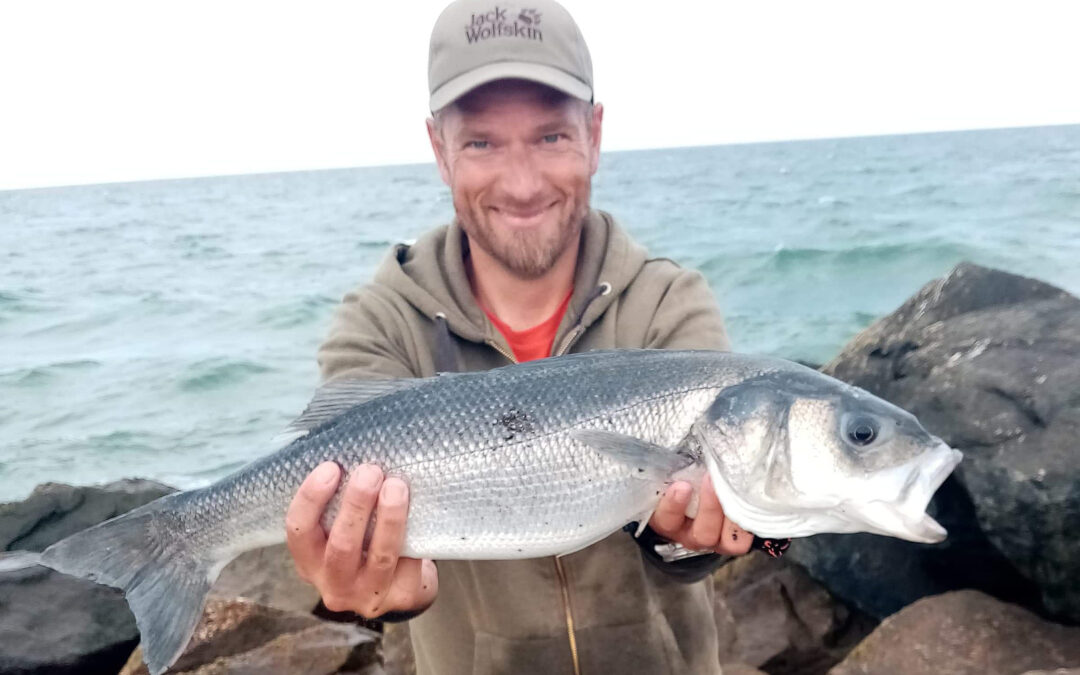 Jakob Møller med sin flotte havbars